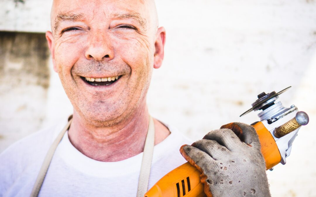 How to stand  out on a construction site
