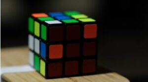 Rubik's cube how to stand out on a construction site